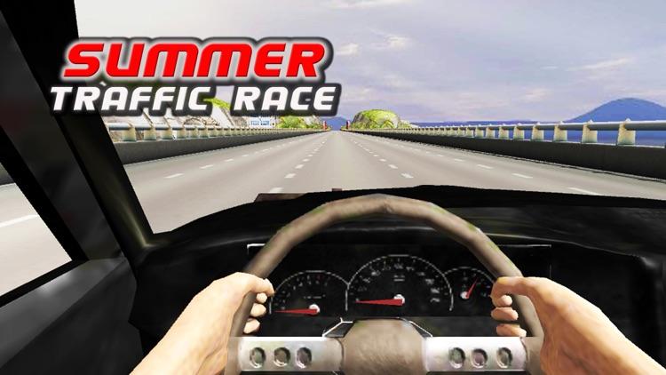 Summer Traffic Car Racing screenshot-4