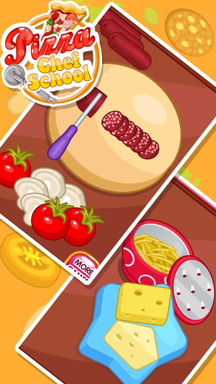 Make a pizza- Cooking games for kids