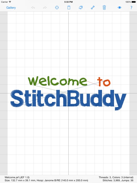 StitchBuddy HD