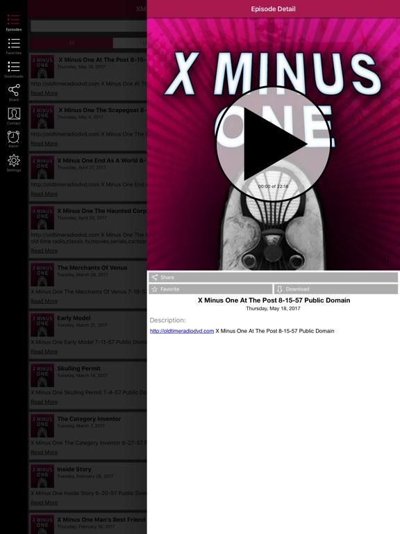 X Minus One - Old Time Radio App-ipad-1