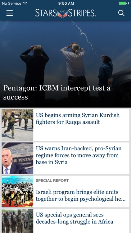 Military News from Stars and Stripes screenshot-0