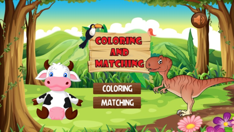 Coloring And Matching Game For Kids Education screenshot-4