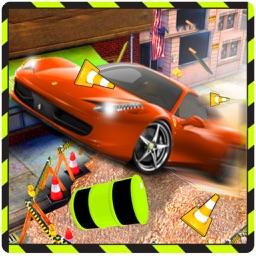 Crazy Roof Car Jump - Beat the Heat