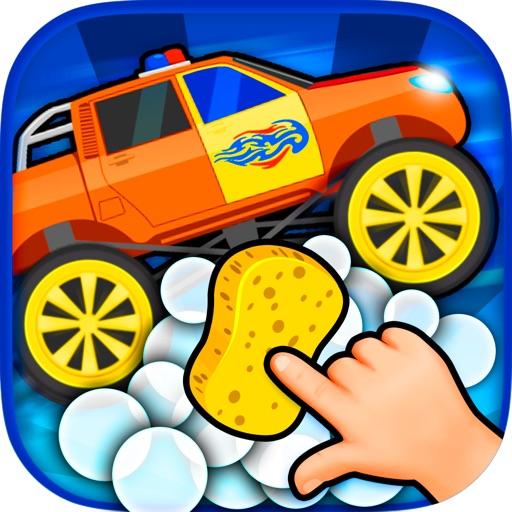Автомойка машины игра для детей
