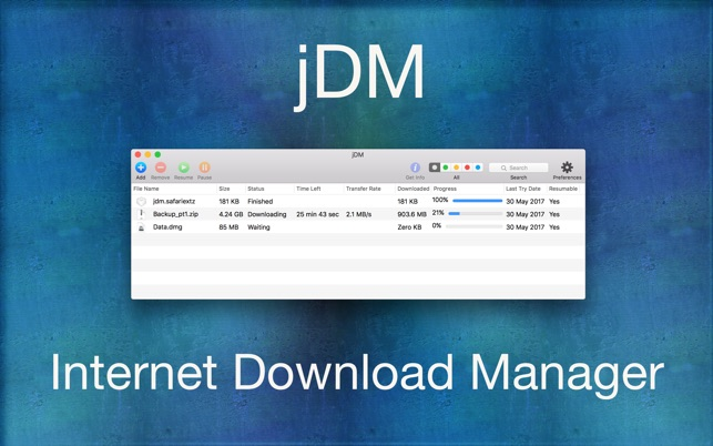 jDM on the Mac App Store