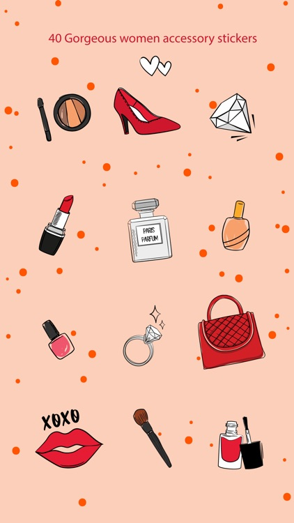 Beauty & Makeup Stickers screenshot-2