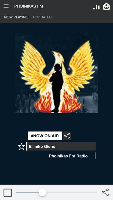 Phoinikas FM screenshot one