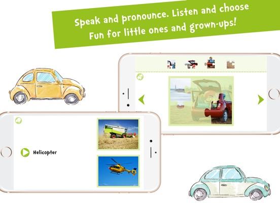 Screenshot #5 for Sami Tiny Flashcards Transportation Kids Apps
