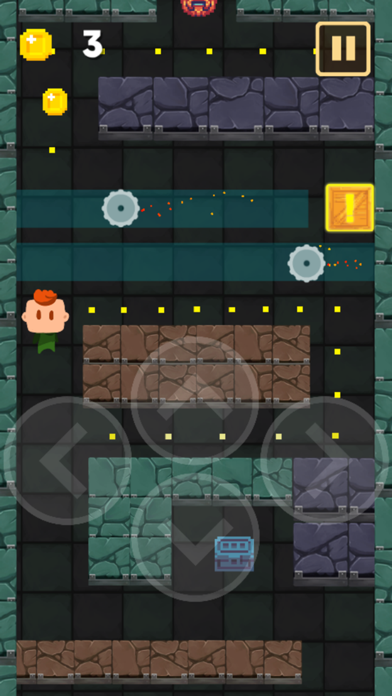 Lava Blocks Dungeon : Escape Floor Challenge! screenshot three