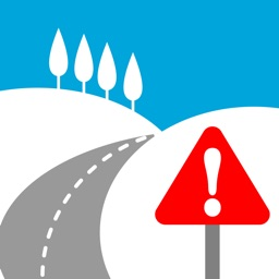 Snowy Roads.The Snow Chain App.