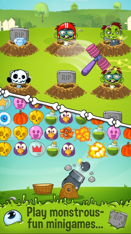 Zedd the Zombie - Grow Your Wacky Friend screenshot-2