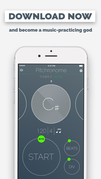 Pitchronome - Tuner + Metronome screenshot-4