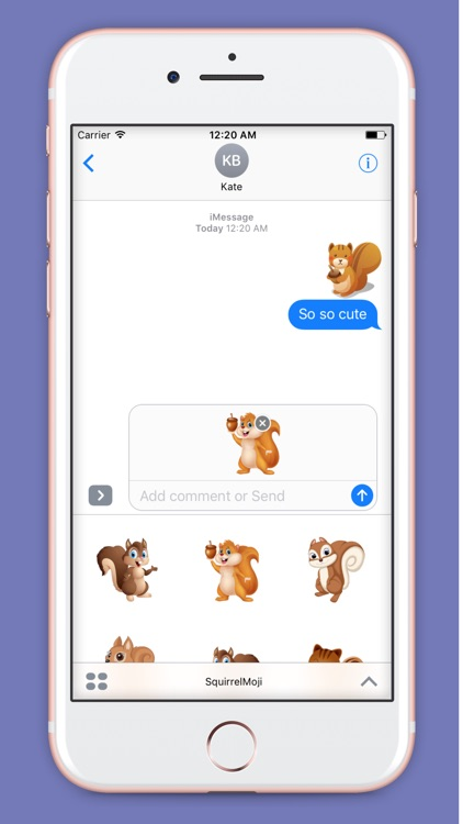 SquirrelMoji - Emoji And Stickers