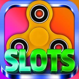 Fidget Spinner Slots - Casino Game Simulator
