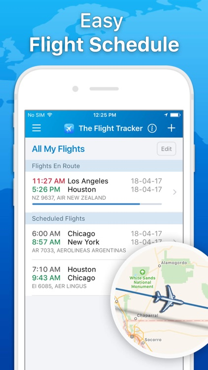 The Flight Tracker - Track Flights & Airline Info screenshot-1