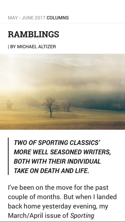 Sporting Classics screenshot-4