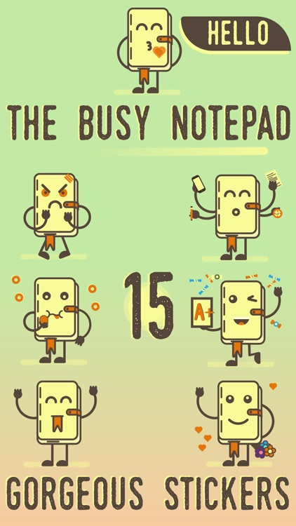 Busy Notepad