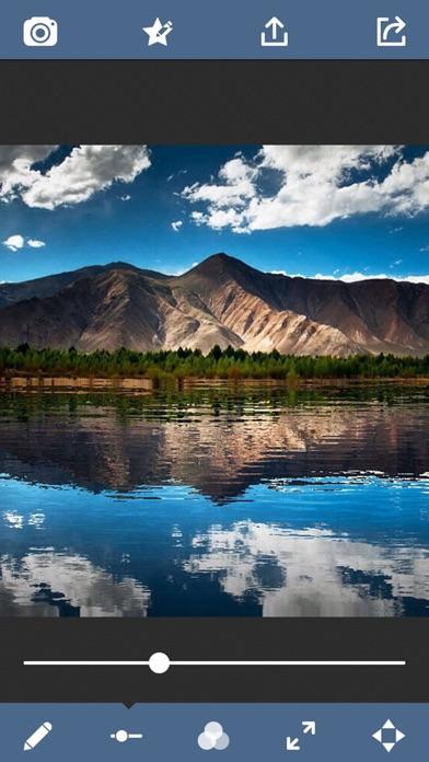 Water Effect - Mirror Photo Reflection Collage Artのおすすめ画像2