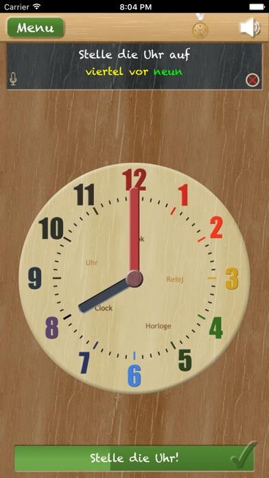 Screenshot for Stell die Uhr - Uhr lesen lernen in Germany App Store