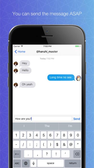 Direct messenger for Twitter screenshot two