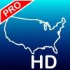 Aqua Map USA HD Pro - GPS Offline Nautical Charts Reviews