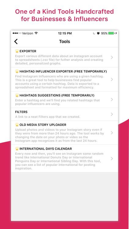 Command Stats & Analytics for Instagram screenshot-3