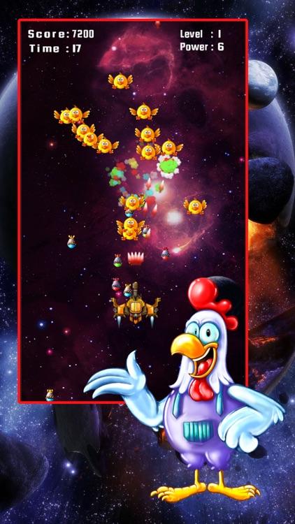 Space Attack: Chicken Shooter screenshot-3
