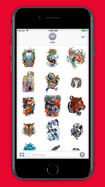 TattooMoji - 100 Best Tattoo Stickers And Emojis