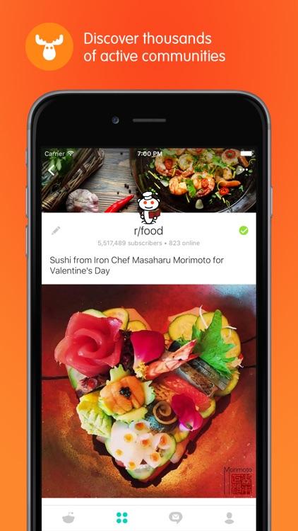 Reddit Official App: Trending News and Hot Topics screenshot-3