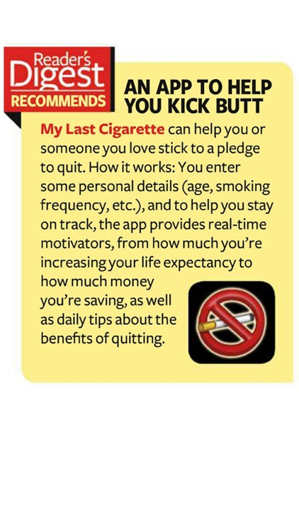 Quit Smoking - My Last Cigarette screenshot-1