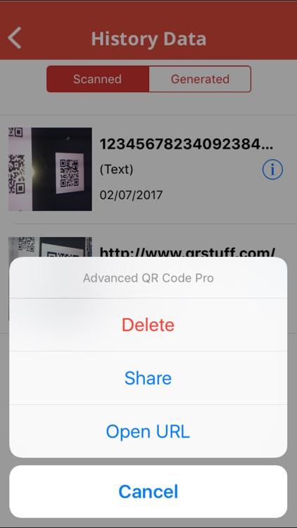 Advanced QR Code Generator and Reader screenshot-4