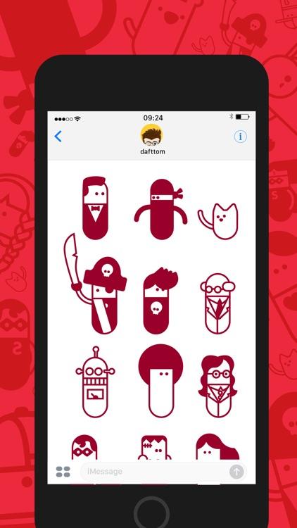 PillBods Sticker Pack