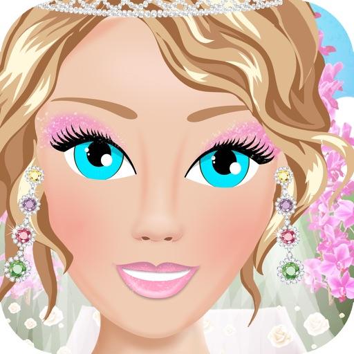 Bridal Salon Dress Up Wedding Bride Makeover Girl