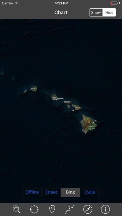 HAWAII ISLANDS – Raster Nautical Charts