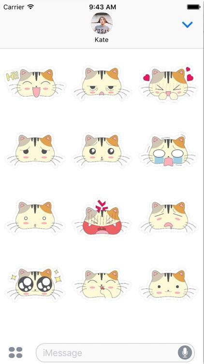 Fun Cat Emoji Sticker Pack - say it the catty way!