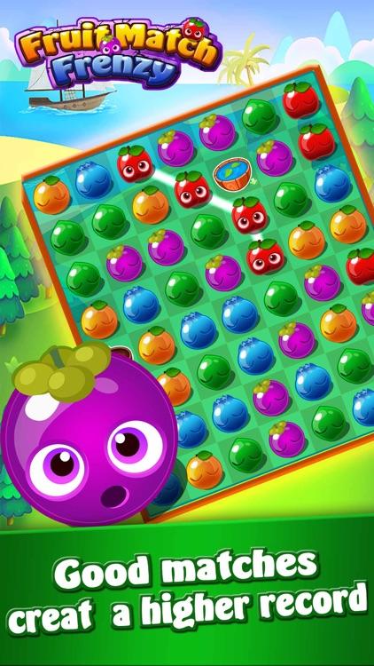 Fruit Match Frenzy-Fruit Crash