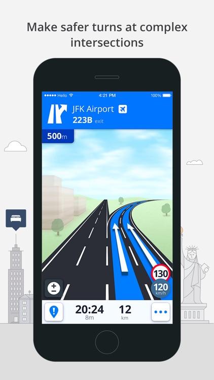 Sygic Brazil: GPS Navigation, Offline Maps screenshot-4