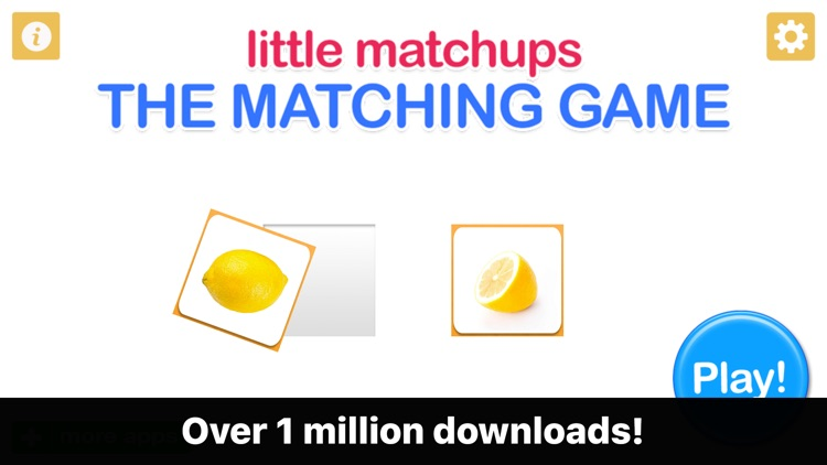 Little Matchups - The Matching Game for Toddlers