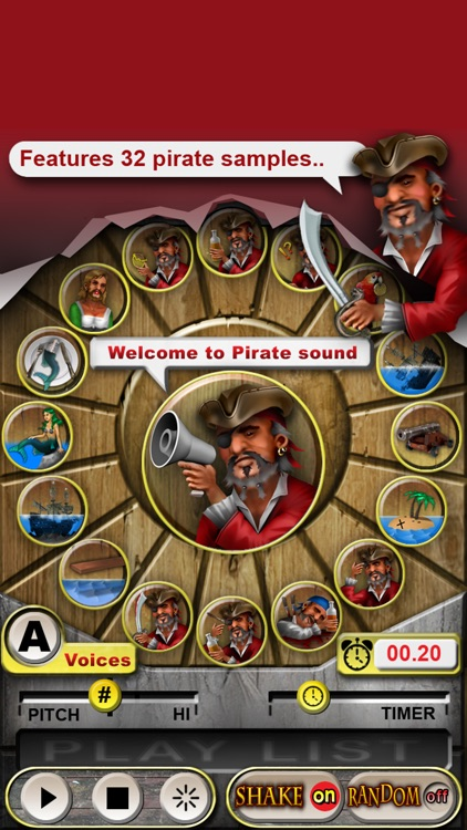 Pirate Sound Board