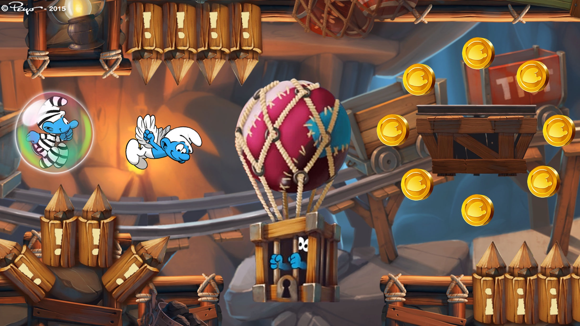 Smurfs Epic Run - Fun Platform Adventure Screenshot