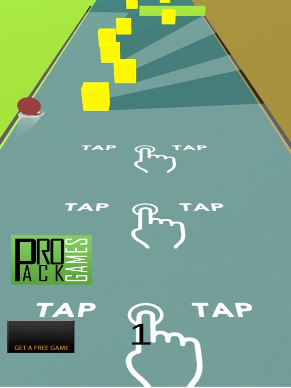 The Endless Road: Cool Ball Game for kids-ipad-0
