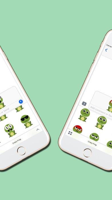 Crazy Frog : Emojis & Stickersのスクリーンショット4