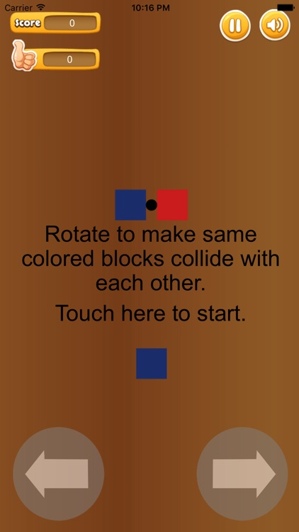 Rotate Connected Blocks