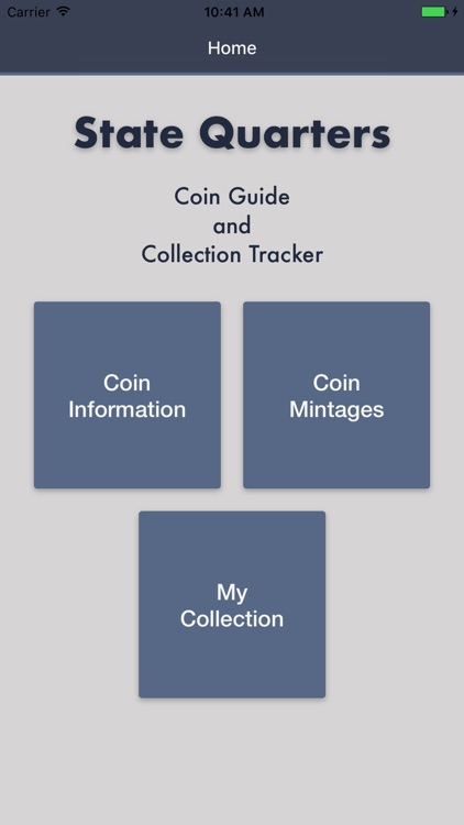 State Quarters - Coin Guide & Collection Tracker screenshot-0