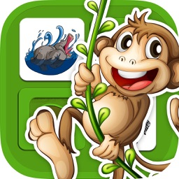 Animals memo games - Find the Pairs game for Kids