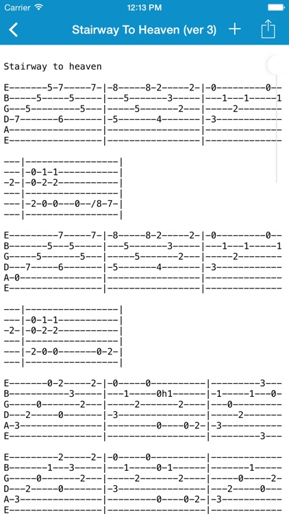 Achording - Guitar Tabs and Chords