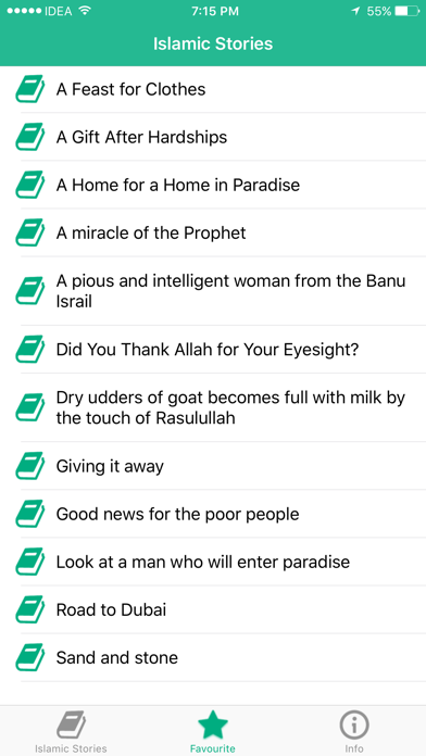 Islamic Stories - Free Muslim Stories, Quran screenshot four