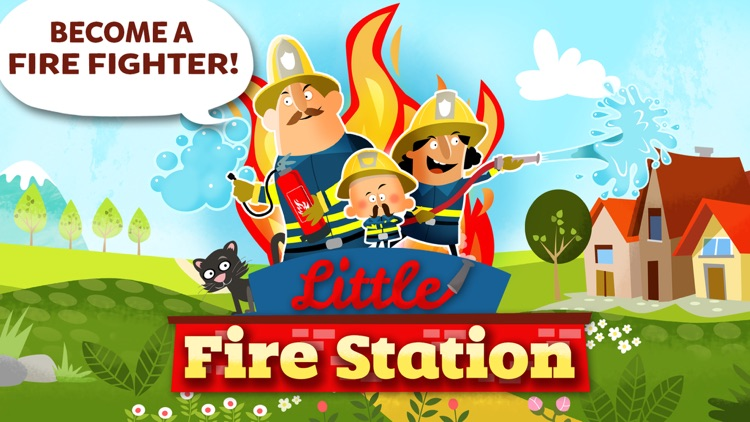Little Fire Station - Fire Engine & Firefighters screenshot-0