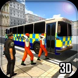 Police City Bus Prison Duty Simulator 2016 3D