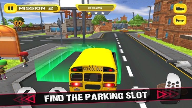 School Bus 3D Game screenshot-3